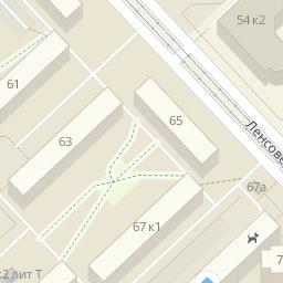 Проспект Юрия Гагарина д 65 на карте Санкт-Петербурга